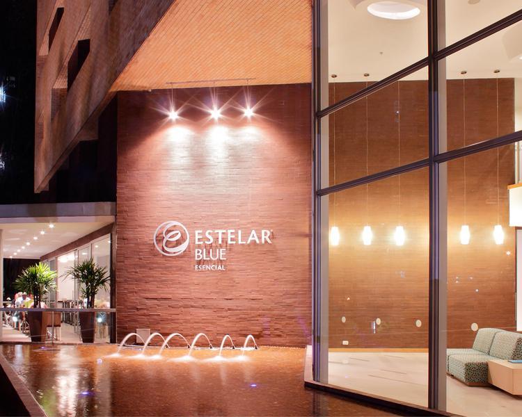 FACHADA Hotel ESTELAR Blue Medellín