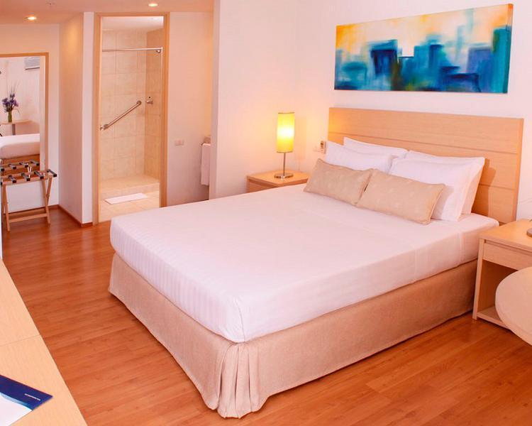 Habitación Junior Suite Hotel ESTELAR Blue Medellín